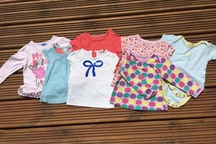 Selling with online payment: Tops bundle, age 9-12 months