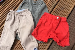 Selling with online payment: Trousers and shorts, age 6-9 months