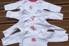 Selling with online payment: Long sleeve vests, age 6-9 months