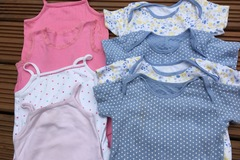 Selling with online payment: Girls short sleeve vests, age 2-3 years