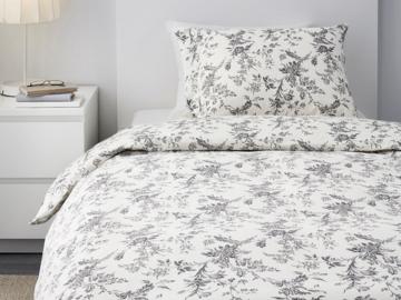 Myydään: Bed linen (140x200, IKEA, ) + sheets ( 90x200, IKEA)