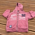 Selling with online payment: Rebel Hoody, age 2-3