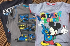 Selling with online payment: Tops, age 4-5