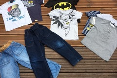 Selling with online payment: Jeans and T's, age 6 years