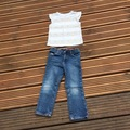 Selling with online payment: Jeans and T, age 3