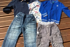 Selling with online payment: Bundle includes Benetton, age 12-18 months
