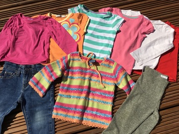 Selling with online payment: Girls bundle, age 12-18 months