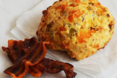 Online Listing: Bacon, Cheddar and Chive Sconie (Mini-Scone) (24 units min)