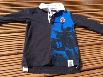 Selling with online payment: England Rugby Top, age 6-7