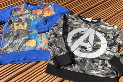 Selling with online payment: Marvel /Lego tops, age 7