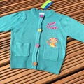 Selling with online payment: In the Night Garden cardigan, age 12-18 months