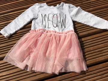 Selling with online payment: Tu cat dress, age 9-12 months