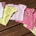Selling with online payment: Yellow and Pink T bundle, age 18-24 months