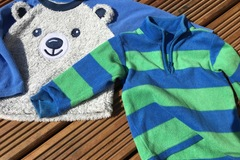 Selling with online payment: Fleece Toos, age 12-18 months