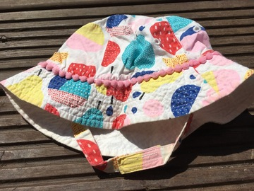 Selling with online payment: Summer Hat, age 6-18 months