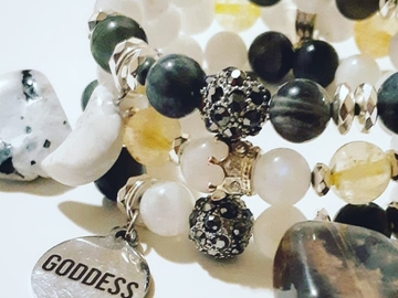 Selling with online payment: Goddess Stack 3 Piece Set