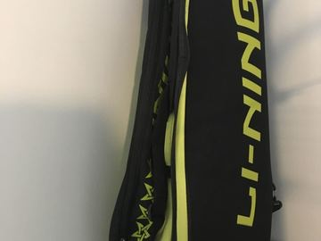 Selling: li-ning badminton bag