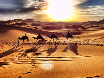 Offering with online payment:  Marrakech, Morocco  to Merzouga Desert – 5 Days