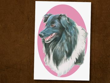Selling: Shetland Sheepdog (Sheltie) Print