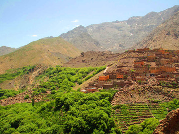 Offering with online payment: Day Trip from Marrakech to High Atlas Mountains