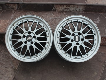 Selling: TOP FORGED BBS LM 18inch 8.5J ET+30 5x112 PAIR