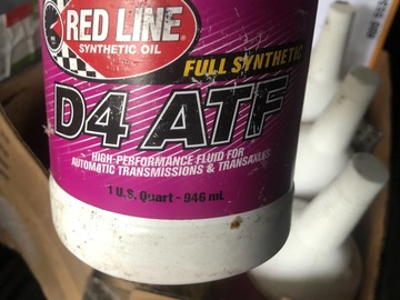 Selling with online payment: Redline synthetic d4 atf (6)