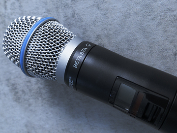 Renting out: WIreless Mic System SHURE QLXD2, G50 with Beta 87 head