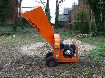"Daily Equipment Rental: Timberwolf 3"" / 75mm Woodchipper w/operator Nottingham"