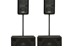 Renting out: PA speaker system. Studiolive 18s AI with 328AI (Stereo Set)