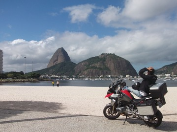 Offering with online payment: Motorcycle City Tour in Rio de Janeiro