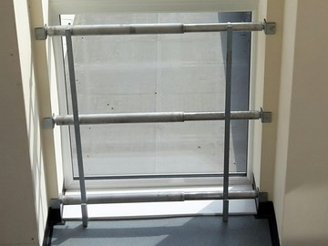 Weekly Equipment Rental: 'Gap Bar' Adjustable Fall Protection System 1200mm - 2000mm