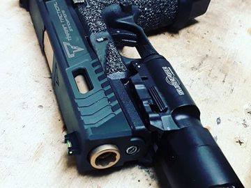 Selling: Taran Tactical G19 + 3 mags (1 has tti baseplate, 1 extended)