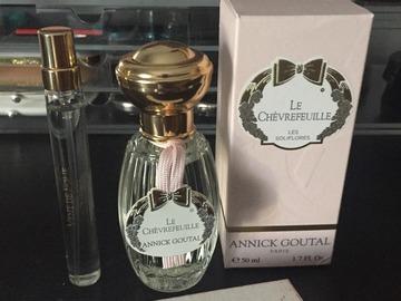 Venta: Annick Goutal Le Chevrefeuille +  Vent de Folie RESERVADO