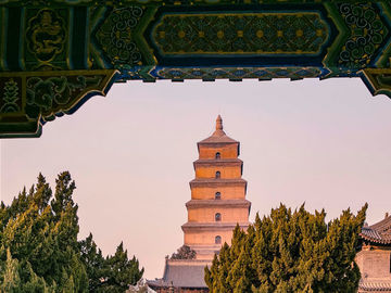 Offering with online payment: Xian Night View Tour to Big Wild Goose Pagoda