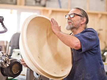Workshop Angebot (Termine): Schalen drechseln - das grosse Spänefest