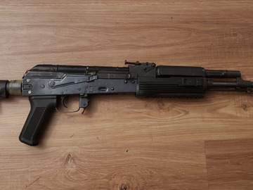Selling: E&L AK74M with buffer tube adapter