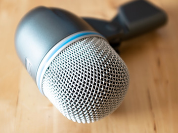Renting out: Shure Beta 52A Supercardioid Dynamic Kick Drum Microphone Rental