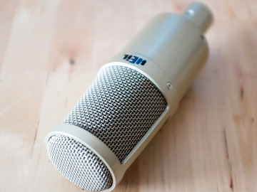 Renting out: Heil Sound PR 30 Large Diaphragm Dynamic Microphone Rental