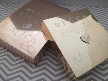 Venta: Paleta de rostro Becca Khloe & Malika.
