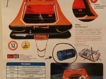 Location: A louer radeau Sea Safe cotier neuf (06/19)  4 places en sac