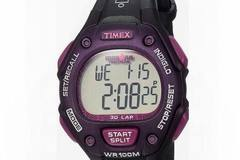 Buy Now: 100 x Timex Ironman Triathlon Black/Purple Digital Sport Watch