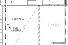 Vuokrataan: Liikehuoneisto 66m2 Taka-Töölö, Mannerheimintie 92