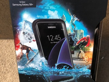 Liquidation Lot: Waterproof Case for Samsung Galaxy S8+ (ONLY) - Retail Packaging