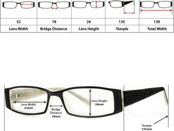 Buy Now:  (35) Eyeglass Frames for sale - 52*18*135