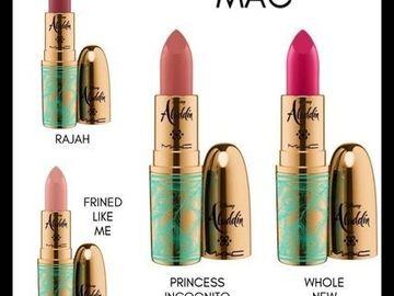 Buscando: Busco labiales de Mac colección Aladdin y más colecciones