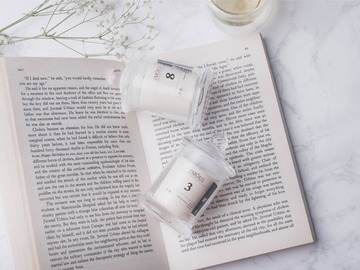: MOU Soy Wax Candle - a set of two
