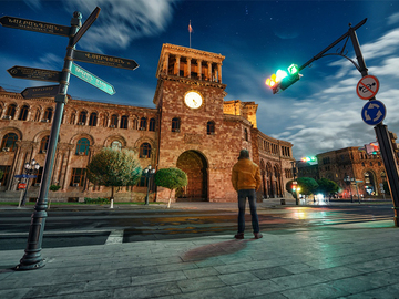 Offering with online payment: City tour in Yerevan
