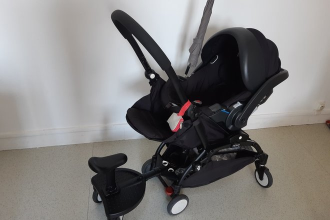 vast selection los angeles great look Siege auto / cosy Babyzen adaptable poussette Yoyo - BabyHop