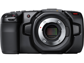 Vermieten: BLACKMAGIC Pocket Cinema Kamera 4K mit MFT Mount