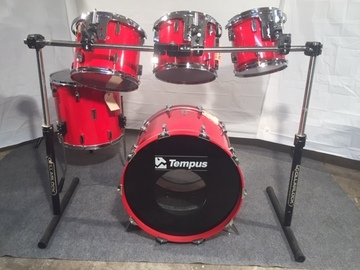 Selling with online payment: Tempus drum set w Collarlock rack $1500 - price lowered